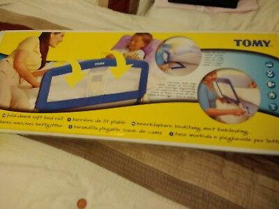 TOMY Fold-Down Soft Bed Rail
