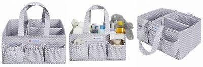 Nurtureland Diaper Caddy Storage Organizer With Baby Changing Mat - Light...