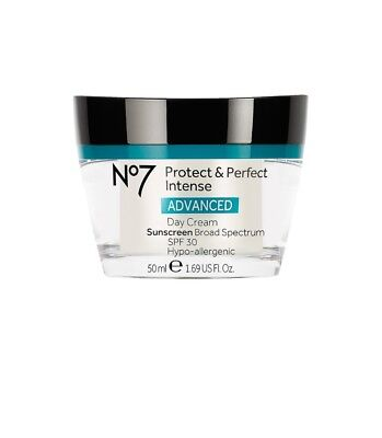 Boots No7 Protect and Perfect Intense Advanced Day Cream SPF 30 1.69 oz
