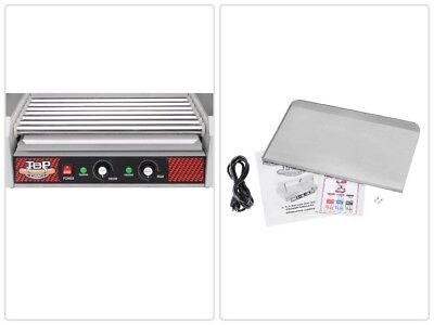 18 Hot Dog and 7 Roller Grilling Machine 1400 Watts Home Cooking Stainless Steel