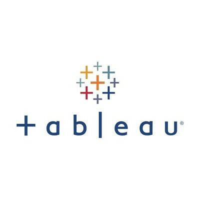Tableau Creator Desktop Professional 2018 Edition 12 Months License RRP $1680USD