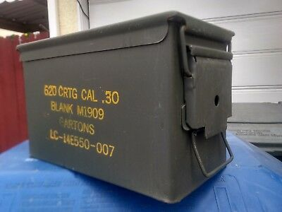 50 cal ammo can (empty)