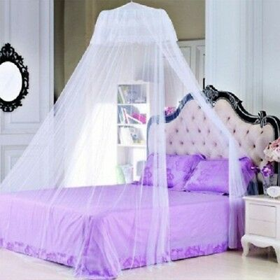 Elegant Lace Princess Round Dome Bedding Mosquito Net block anti-Mosquito