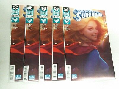 Supergirl Vol 7 #16 Cover B Variant Stanley Artgerm Lau Cover FREE SHIPPING