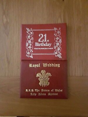 Charles and Dianna Royal Wedding Limited Edition Gold Stamp 1981