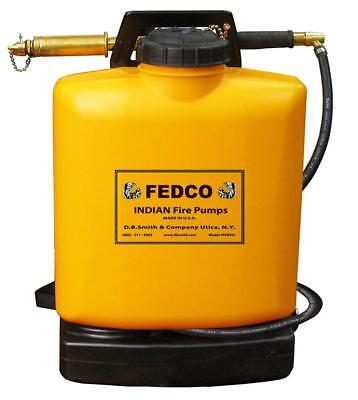 Fedco FER501 Poly Tank Fire Pump with Pump, 5-Gallon