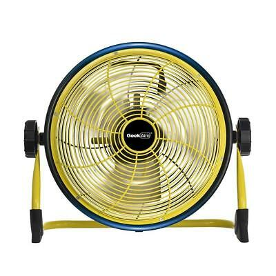 Geek Aire Rechargeable Outdoor High Velocity Fan, Cordless, Max 1500 CFM...
