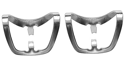 """2 pc Rubber Dam Clamp Brinker """"butterfly"""" with narrow """"jaws"""" (B5)"""