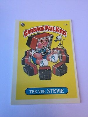 #10a 1986 The Garbage Gang Pail Kids Series 1 New Zealand Set Rare Card