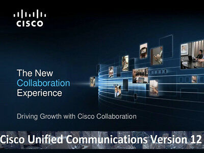 Cisco Collaboration Voice Lab CCNA CCNP CCIE VMWare Images CUCM CUC CUPS v 12