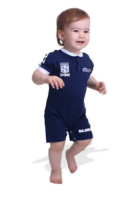 NZ Blues Super Rugby Union Footysuit All-in-one Shorts 0