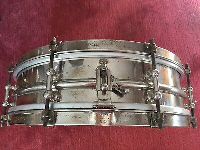 1920s Ludwig NoB Snare Drum 14 x 4 (Black Beauty)
