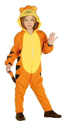 Kids Tiger Costume Fancy Dress Book Week Tigger Outfit Boys Girls New Age 3-4