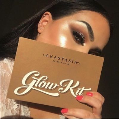 New Anastasia Beverly Hills Glow Kit Ultimate Glow Highlighter Eyeshadow Palette