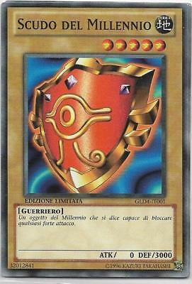 Yu-Gi-Oh! Gld4-It001 Scudo Del Millennio Comune The Real_Deal Shop