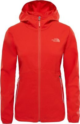THE NORTH FACE TNF Nimble T92TYIH9K SoftShell Hiking Hoodie Jacket Hooded Womens