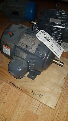 3 phase electric motor Emerson 1475rpm 1HP A1S2Z-P