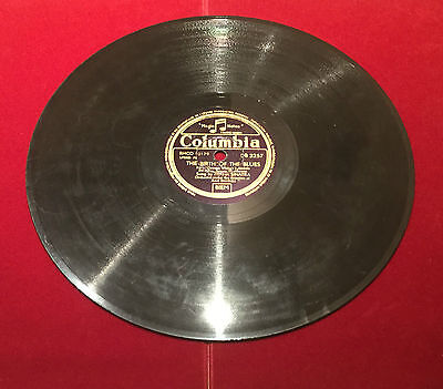 "78rpm Schellackplatte von Frank Sinatra "" The birth of the blues & Why try to """