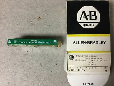 Allen Bradley 700-CR5 Contact Cartridge-NIB