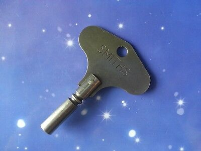 SIZE 5 ORIGINAL SMITHS ANTIQUE VINTAGE 3.5mm CLOCK WINDING WINDER KEY MANTLE