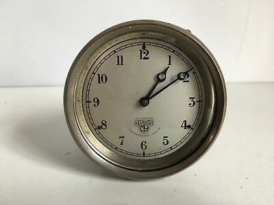 Smiths Vintage Classic Car Dashboard Clock For Spares
