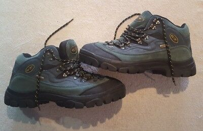 b6b5e26f572 COTTON TRADERS CAM-TEX Leather Suede Hiking Boots Size 10 Men's Bought Not  Used