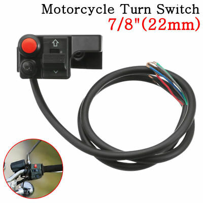 Horn Motorcycle Aluminum Mount For Honda Led Handlebar Switch Button Turn Push