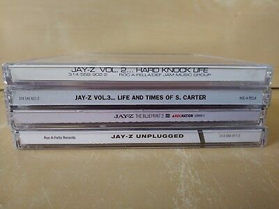 Lot of cd inserts no cds jay z green day one republic fall out lot of 4 jay z cds volume 2 volume 3 blueprint 3 unplugged sealed rap malvernweather Gallery