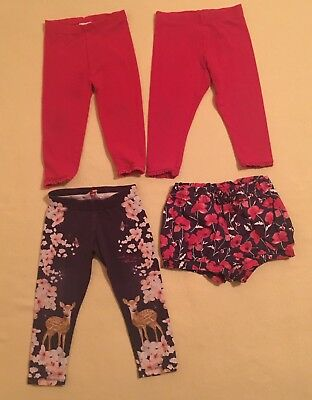 12-18 months girls Summer Trousers Bundle 4 Pice UC To GC Ted Baker,Next,Gap
