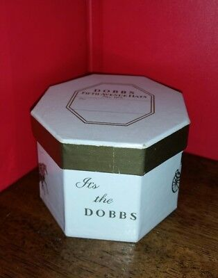 Dobb's Fifth Avenue New York Miniature Hat & Box RED CELLULOID !!