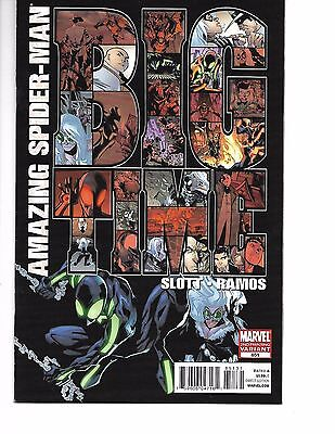 The Amazing Spider-Man #651 2nd print (February 2011, Marvel)