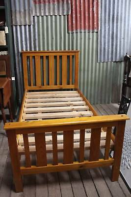 A Federation Style Single Timber Bed