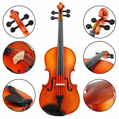 IRIN 16inch Maple Spruce Wood 4 String Viola with Strings&Shoulder Rest