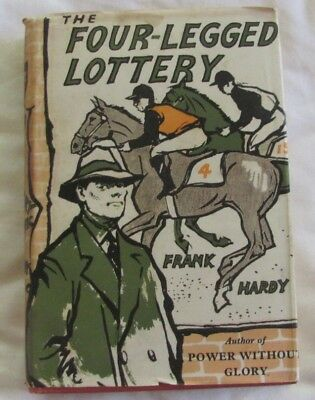 The Four Legged Lottery by Frank Hardy, First Edition 1958 hc/dj