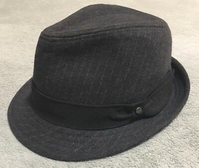 MEN S ALL AMERICAN Stetson Fedora Wool Blend Hat Size Small Medium ... bc24804725a