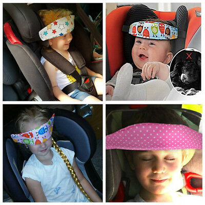 Kid Car Safety Seat Sleep Infants Baby Head Support Strap Comfortable