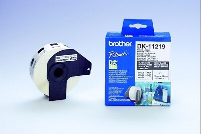 NEW Brother DK-11219 Round Labels free shipping