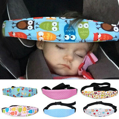 Car Safety Seat Sleep Infant Baby Head Support Pram Stroller Belt New