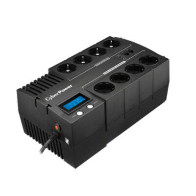 NEW CyberPower BR1000ELCD Line-Interactive 1000VA 8AC outlet(s) Black uninterrup