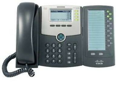NEW Cisco SPA500DS Wired handset 30lines LCD Black IP phone free shipping