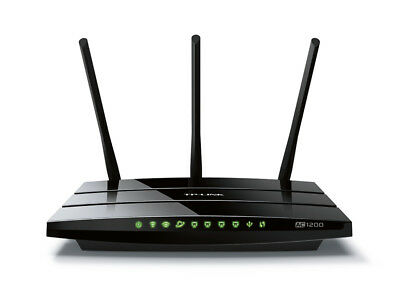 NEW TP-LINK AC1200 Dual-band (2.4 GHz / 5 GHz) Gigabit Ethernet Black wireless r