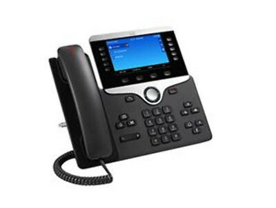 NEW Cisco 8851 Wired handset Black IP phone free shipping