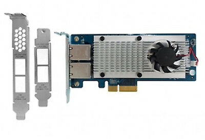 NEW QNAP LAN-10G2T-X550 Internal Ethernet 10000Mbit/s networking card free shipp