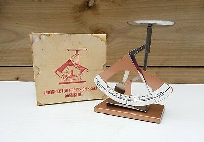 Vintage Prospectors Precision Scale 56Gm/2Oz 'as New' In Box Scales
