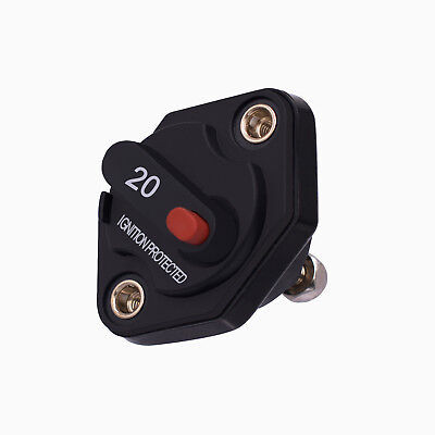 20A Car Motorcycle Auto Manual Reset Switch Ignition Protective Circuit Breaker