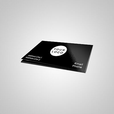 Print 1000 Custom Business Cards - Single Sided OR Double Sided - $18