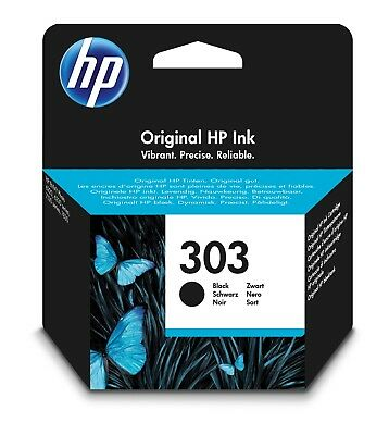 HP Original 303 Black Ink Cartridge (T6N02AE) Envy Photo 6230 7130 7134 7830