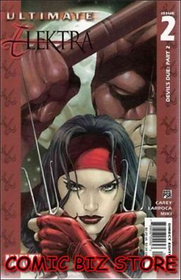 Ultimate Elektra #2 (2004) 1St Printing Bagged & Boarded Marvel Comics
