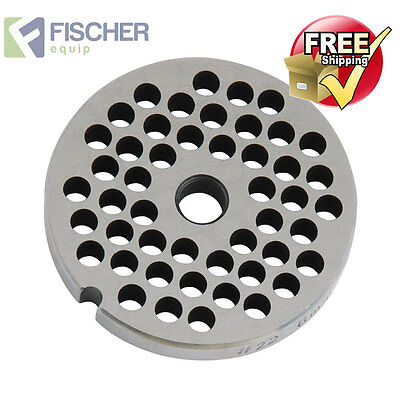 """new"" Mincer - Grinder Cutting Plate 6Mm For #22 Mincer - Other Sizes Available"