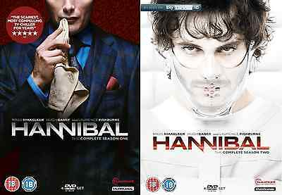 HANNIBAL SEASONS 1 and 2 DVD Double Pack Brand New and Sealed